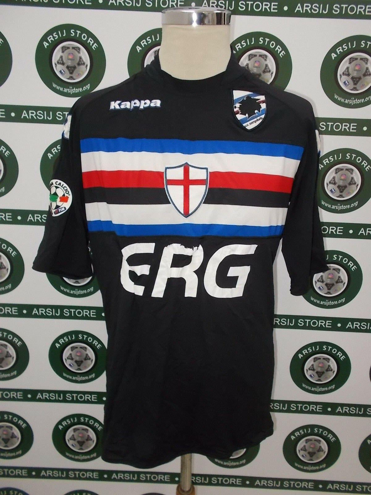 Maglia calcio shirt maillot  trikot camiseta SAMPDORIA CASSANO TG XXL  hasta 42% de descuento