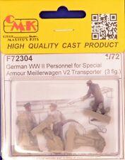 CMK F72304 Resin 1/72 German WWII personnel or V2 transporter (3 fig.)