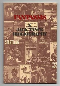 Fantasms-a-Bibliography-of-the-Literature-of-Jack-Vance-1978-1st-edition-Fine