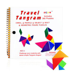 150-176-360-Jigsaw-Puzzle-Magnetic-Travel-Tangram-Educational-Kids-Toy