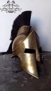 300 Movie Spartan King Leonidas Medieval Helmet Greek ...