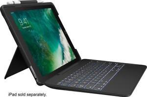 Logitech-Slim-Combo-Case-Bluetooth-Backlit-Keyboard-iPad-Pro-10-5-034-A1701-A1709