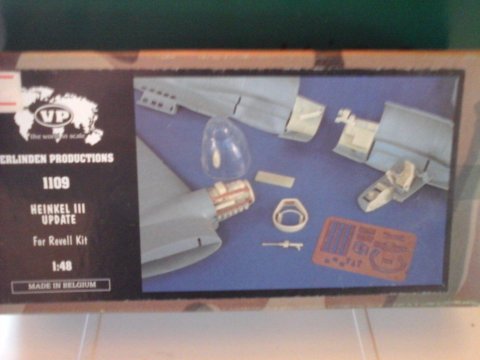 diseños exclusivos HEINKEL 111 UPDATE SET 1 48 48 48 SCALE VERLINDEN ACCESSORIES RESIN+PHOTOETCHED PARTS  tienda de venta en línea