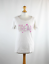 Love-to-Lounge-Womens-Size-10-White-Love-Heart-Cotton-Graphic-Tee thumbnail 2