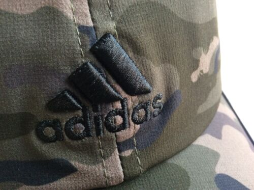 Adidas Climacool Camo Cap Hat Thin Breathable Reflective Adjustable Back Strap