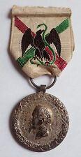 MÉDAILLE DU MEXIQUE 1863 ARGENT BARRE ORIGINAL LEGION ETRANGERE CAMERONE MEDAL