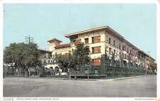 Pasadena California Hotel Maryland Street View Antique Postcard K30055