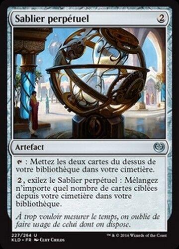 Mtg magic kld - French//vf perpetual timepiece//sandglass perpetual x4