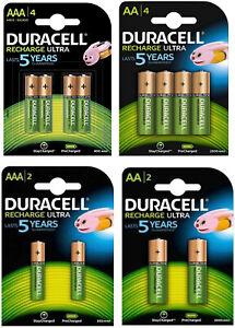 Duracell-Recharge-Ultra-Akkus-Accus-AAA-Micro-900mAh-AA-Mignon-2500mAh