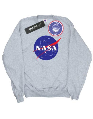 NASA Uomo Classic Insignia Logo Felpa