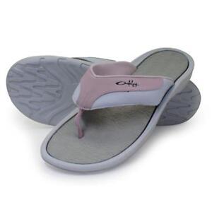 68d8009e9448 Oakley LOWLA Pale Pink Cement 11 US Womens Girls Beach Sandals Flip ...