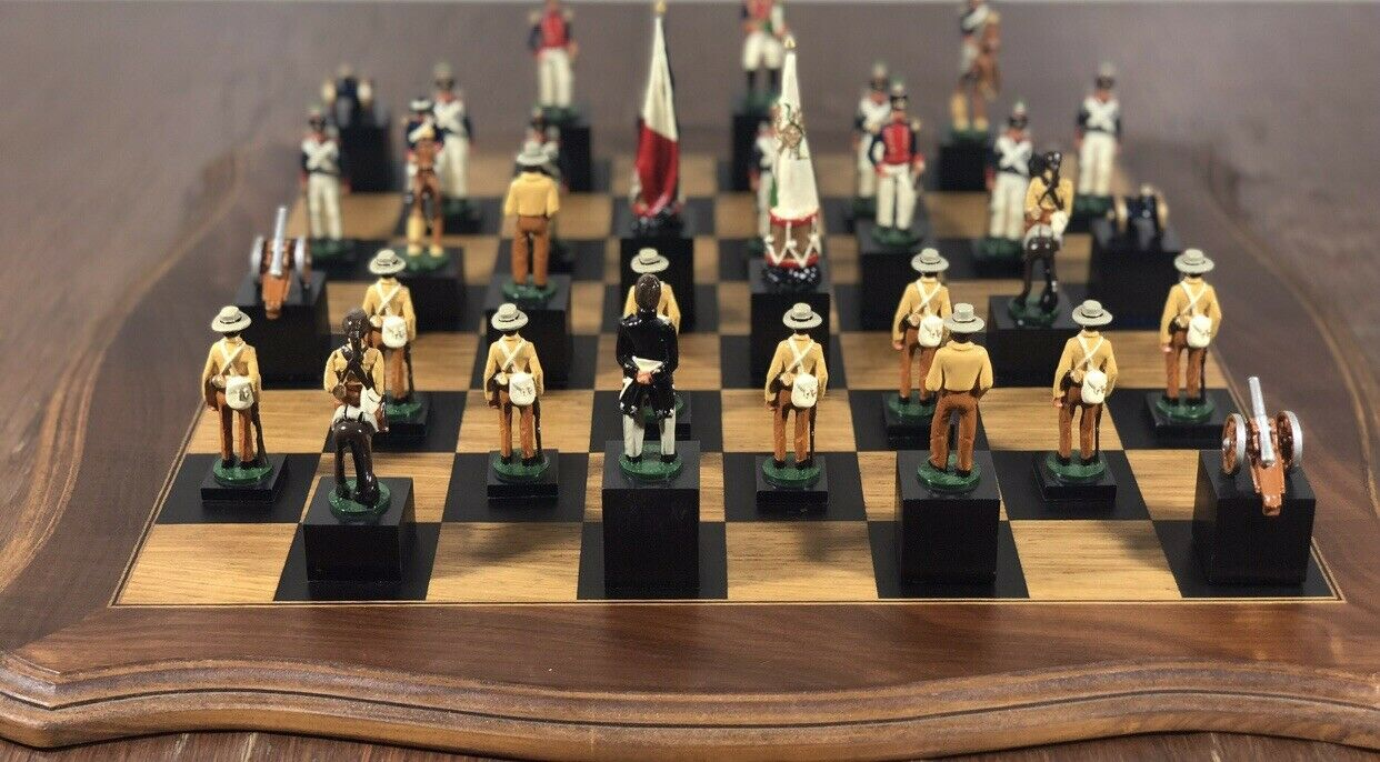 America America America Civil War Chess Set. 4cf65f