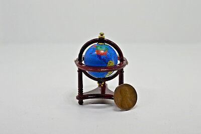 Miniature Abacus Oak in 1:12 doll scale