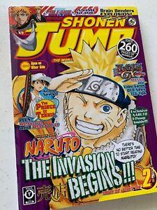 Shonen Jump February 2007 Volume 5 Issue 2 SJ Viz Media Black Naruto Manga