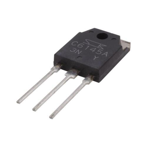 2SC6145 A Japón se hundió transistor audio NPN 260V 15A 160W hFE rango Y 854329