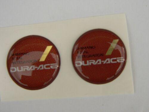 1 pair stickers resin for Shimano dura ace sti 7400-8-v Brake//Shifter Combo