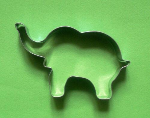 "4/"" Elephant Cookie Cutter Animal Baking Biscuit Pâtisserie Candy acier moule"