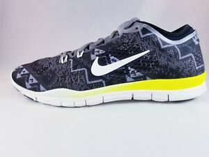 6771a897ced3 Nike Free 5.0 TR FIT 4 Print Women s Athletic Shoe 629832 008 Size ...