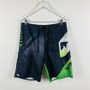 Quiksilver-Mens-Board-Shorts-Size-30-Aussie-Surfwear-Summer-Swim-Shorts