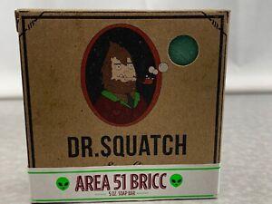 Dr. Squatch Soap Co. Area 51 Bricc Limited Edition Release Rare Bar 5 Oz New CR