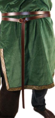 Re-enactment//Medieval//Larp//Sca//WRAP AROUND GARTER RING TIE BELT 20mm Width