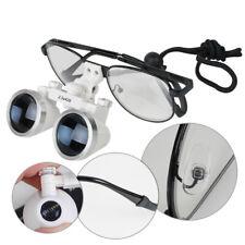 Dental Surgical Binocular Loupes 25x420mm Niti Alloy Stylish Glass For Dentist