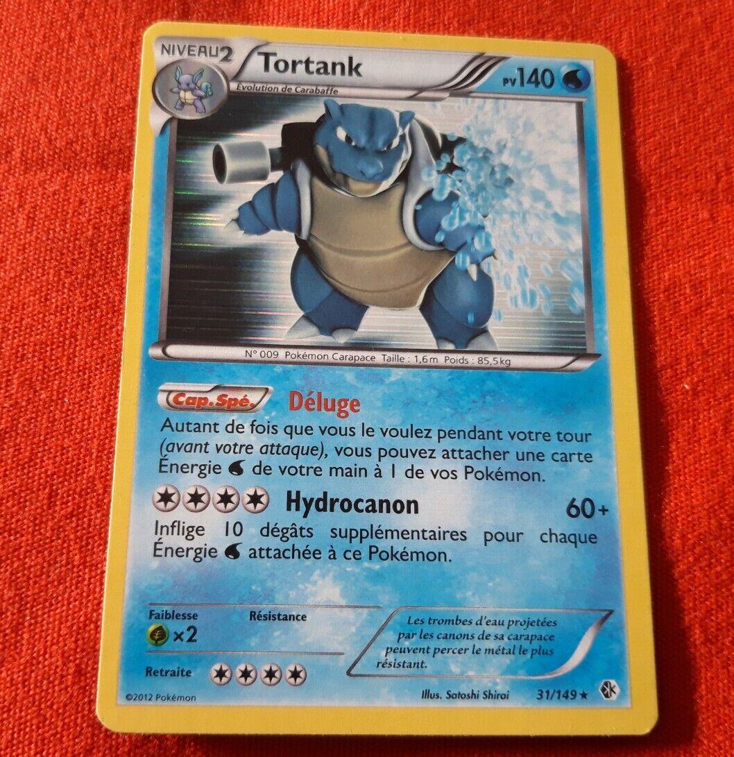 Blastoise 31 149 Pv140 Holo Pokemon Card VF Fr Rare Rare