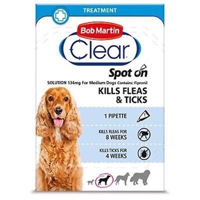 Bellissimo Clear Spot On Per Cani Piccoli Uccide Le Pulci Zecche &!-mostra Il Titolo Originale Aiutare A Digerire Cibi Grassi