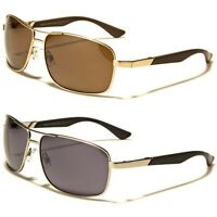 New Air Force Classic Rectangle Metal Aviator Mens Driving Sunglasses
