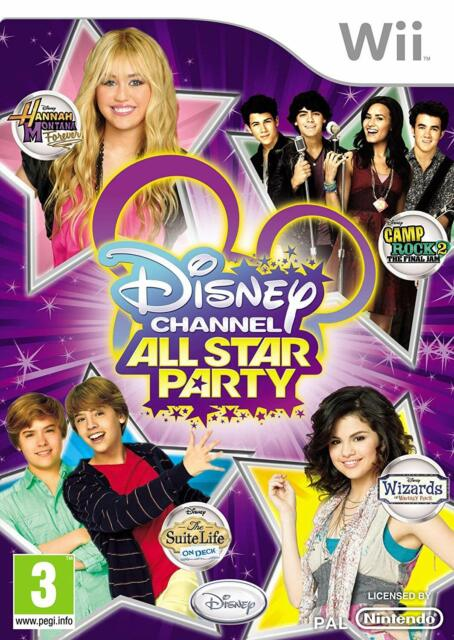 Wii jeu Disney Channel All Star Party Games 30 jeux article neuf