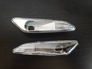 ALFA-ROMEO-147-2004-2010-156-1997-2005-Side-marker-Light-PAIR-Clear