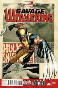 Savage-Wolverine-Vol-1-5-Near-Mint-NM-Marvel-Comics-MODERN-AGE