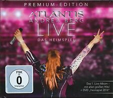 ANDREA BERG - Atlantis Live - Das Heimspiel - Premium-Edition (2014) - 2 CDs+DVD
