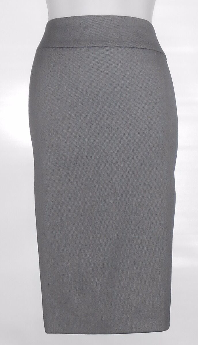 Jones New York Collection Woman Lined Pencil Skirt Navy & White 24W NWT