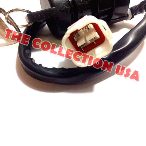 Ignition Key Switch 4pin Yamaha Warrior 350 Yfm350 1996 1997 1998 1999 2000 2001