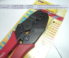 Crimper crimping Pliers Cable RG-58 RG-59 8279 140 223 400 FOR SMA SMB TNC BNC