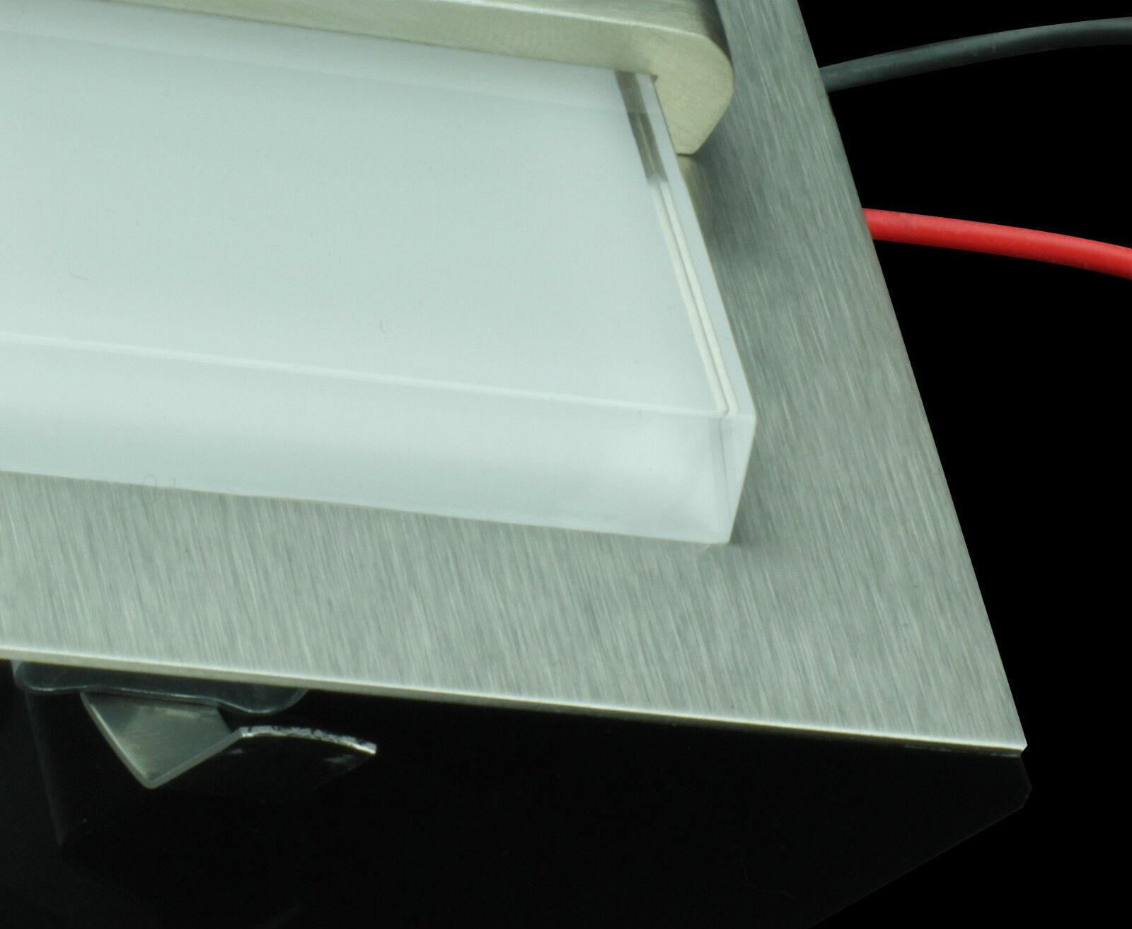 LUNEX DIAMOND DESIGN 0.8W 0.8W DESIGN LED ENCASTRÉ MUR LUMIÈRE ESCALIERS, COULOIRS 7 COULEURS b6b8d0