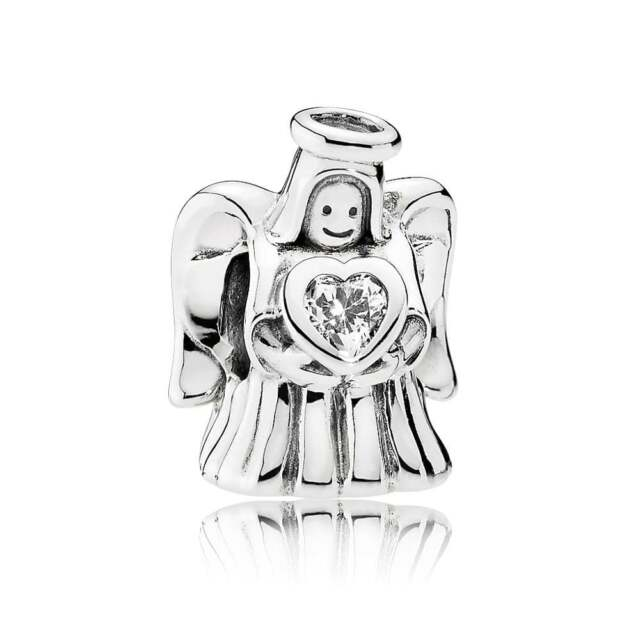 Pandora Women Silver Bead Charm - 792010CZ X7RkMb