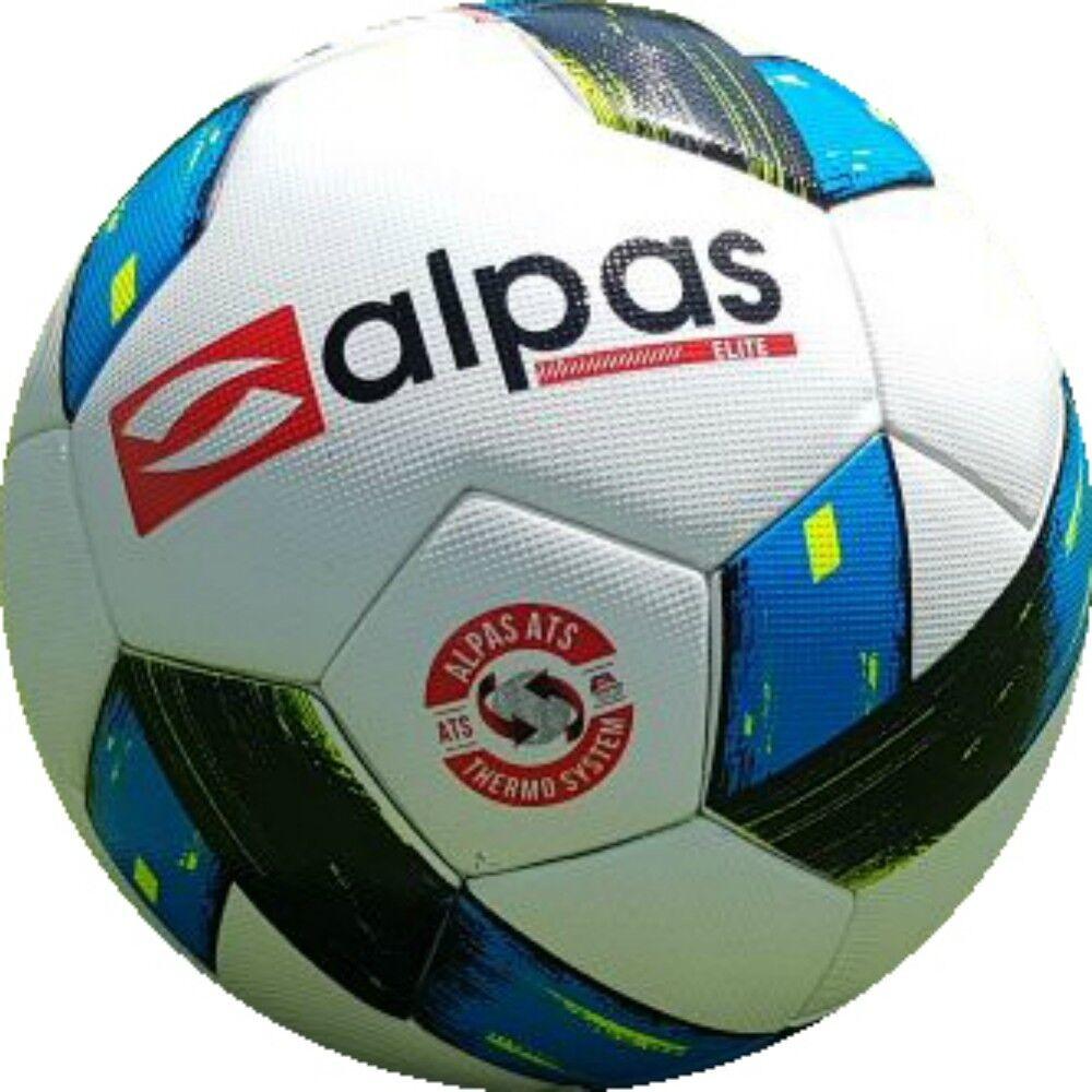 10x Balle à Jouer Compétition Football Alpas Talla 5 Balle D'Entraînement