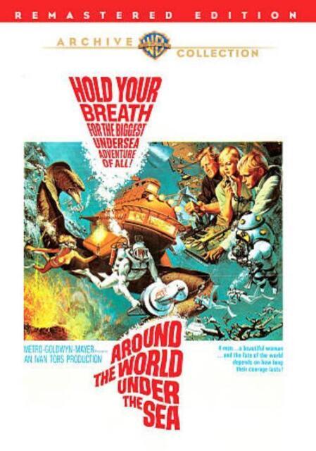 AROUND THE WORLD UNDER THE SEA NEW REGION 0 DVD
