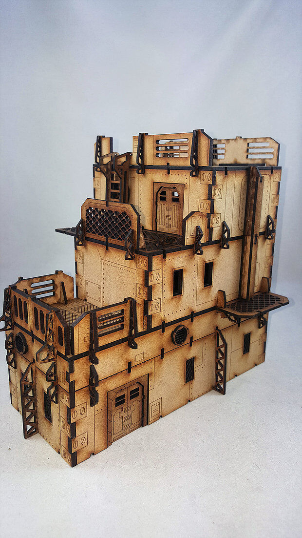IRON GULCH 28MM BUILDINGS BUNDLE MDF scenery terrain gaming LCA sun