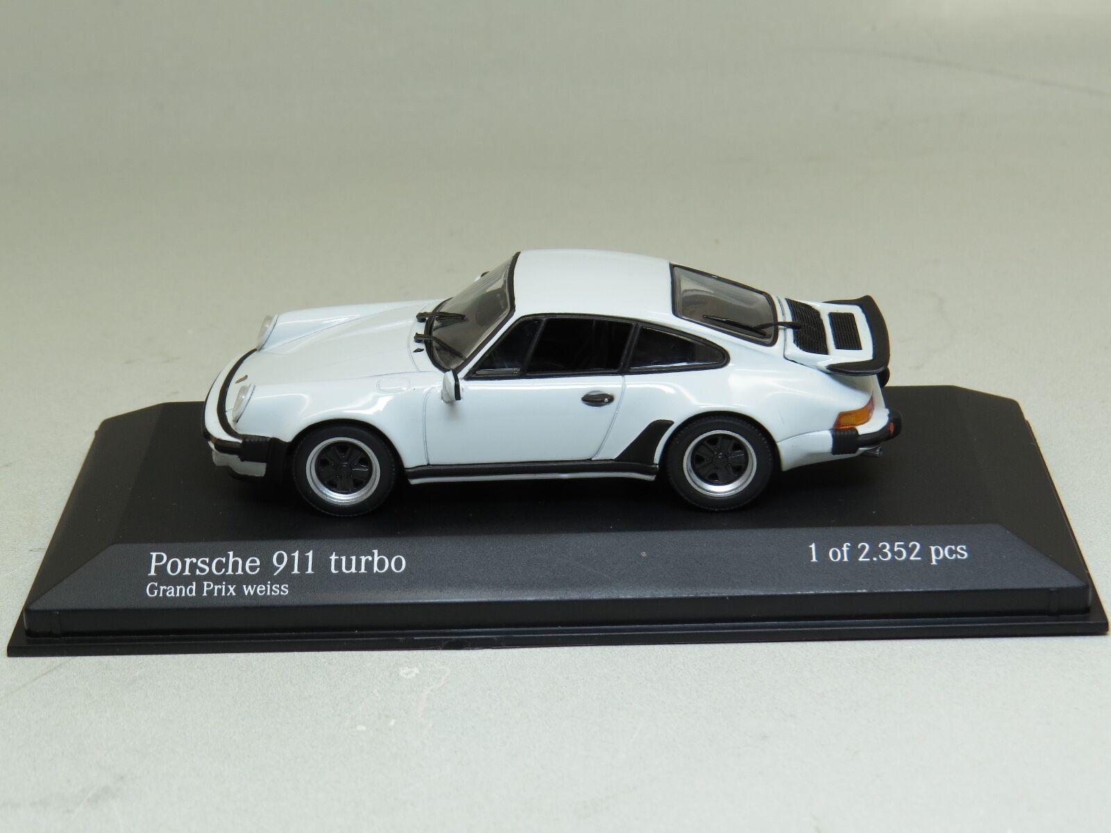 Porsche 911 turbo grand - prix - weiss (weißen) 1977 minichamps 1 43