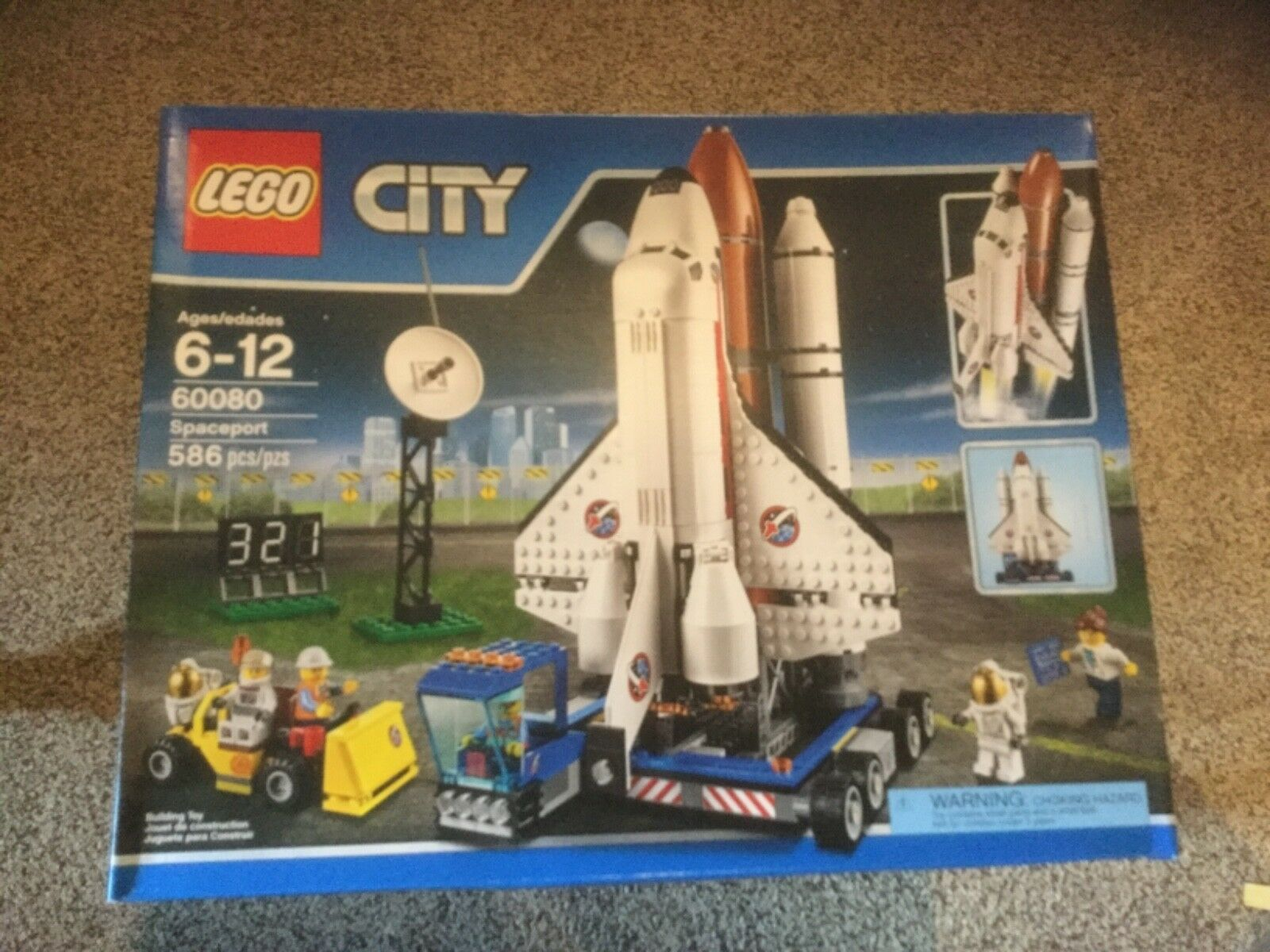 NIB LEGO City Spaceport (60080)