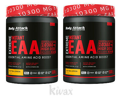 (44,90 Euro/kg) 2er-pack Body Attack - Extreme Instant Eaa - 2 X 500g