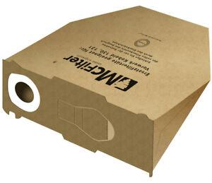 8 Staubsaugerbeutel Papier geeignet Vorwerk Kobold 130 131 Motorschutzfilter
