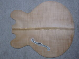 Nicely-flamed-old-front-of-a-hofner-archtop-guitar-German-Made-approx-1960-NOS