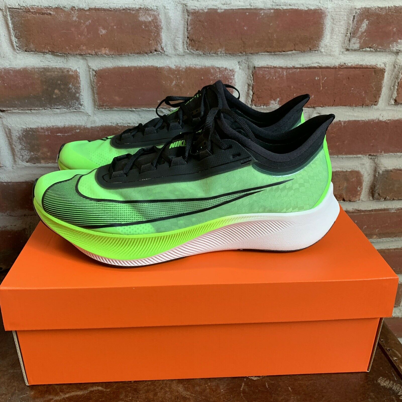 Electric Green Cross Fit Running