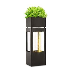 Garten-Springbrunnen-Indoor-Zierbrunnen-Wasserspiel-LED-witterungsbestaendig
