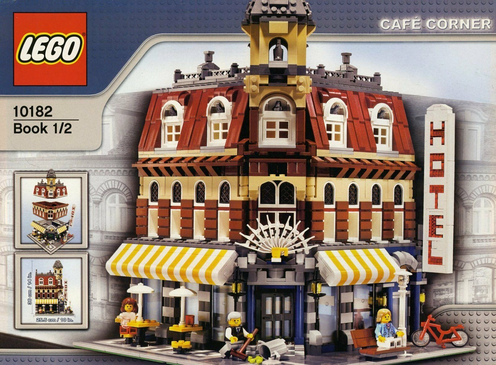 LEGO Cafe Corner (10182) 100% complete with with with original parts and instructions ded024
