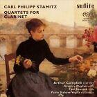 Carl Philipp Stamitz: Quartets for Clarinet Super Audio Hybrid CD (CD, Feb-2013, Audite)